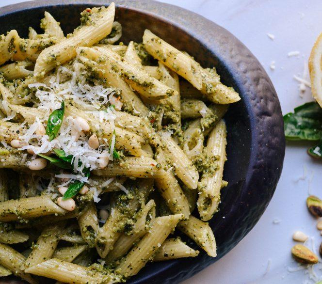 Avocado and Pistachio Pesto
